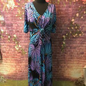 Gypsy Mara Hoffman Stretchy Maxi Dress Coverup S